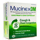 DM, Expectorant/Cough Suppressant, 600mg/30mg, 40 Tablets