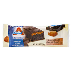 Atkins Advantage Caramel Bar- Double Chocolate Crunch (5 pack)