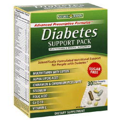 Nature's Bounty- Diabetic Support Pack-30 day supply (30 pack)
