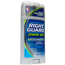 Right Guard- Deodorant & Anti-Perspirant, Xtreme Power, Arctic Fresh, 2.6oz