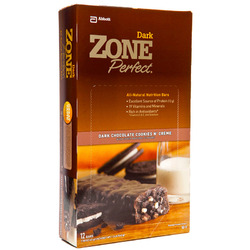 Zone Perfect- Double Dark Chocolate Cookies N' Creme (12 pack)