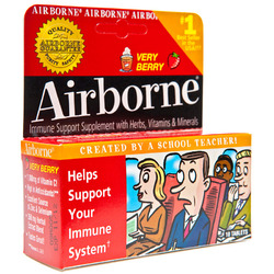 Airborne- Effervescent, Very Berry, 10 tablets