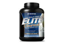 Dymatize- Elite Gourmet, Cookies & Cream, 5lbs