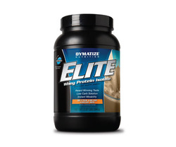 Dymatize- Elite Whey Protein, Butter Toffee, 2lbs