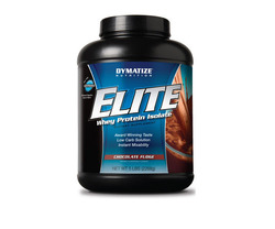Dymatize- Elite Whey Protein, Chocolate Fudge, 5lbs
