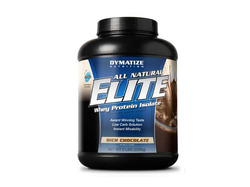 Dymatize- Elite Whey Protein Natural,  Chocolate, 5lbs