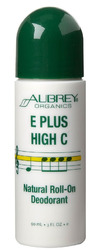 Aubrey Organics- E Plus High C Roll-On Deodorant, 3oz