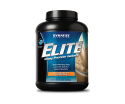 Dymatize- Elite Whey Protein, Butter Toffee, 5lbs