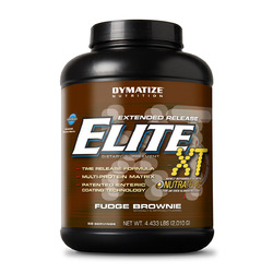 Dymatize- Elite Xt Protein Fudge Brownie, 4.4lbs