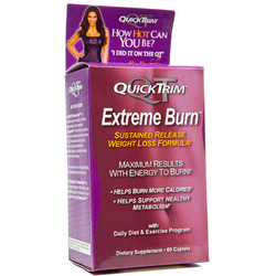 Quick Trim- Extreme Burn, 60 Caplets