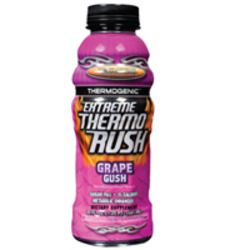Worldwide Sport Nutrition- Extreme Thermo Rush, Grape Gush,, 20oz (12 pack)