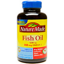 Nature Made- Fish Oil 1200mg, 100 Softgels