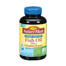 Nature Made- Fish Oil 1200mg + Vit D-1000IU, 90 Softgels