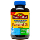 Flaxseed Oil 1000mg, 180 Softgels