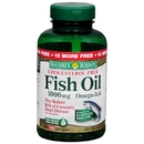 Fish Oil, 1000mg, 120+15 softgels (Permanent Bonus)