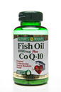 Fish Oil 1000mg & Co Q 10, 50 softgels