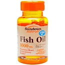 Sundown Naturals- Fish Oil, 1000mg, 50 softgels