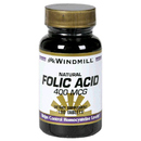 Folic Acid, 400mcg, 180 Tablets