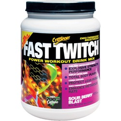 CytoSport- Fast Twitch, Sour Berry Blast, 2.04lbs