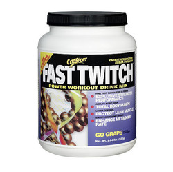 CytoSport- Fast Twitch, Go Grape, 2.04lbs