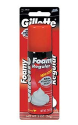 Gillette- Foamy Shaving Cream, Regular, 2oz