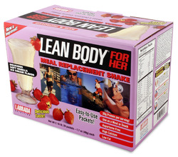 Labrada Nutrition- Lean Body For Her, Strawberry (20 pack)