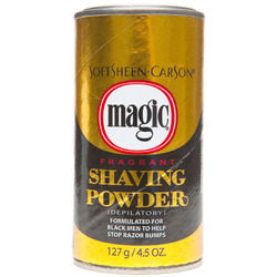 Magic- Fragrant Shaving Powder, Gold, 4.5oz
