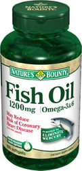 Nature's Bounty- Fish Oil, 1200mg, 100 softgels