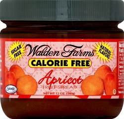 Walden Farms- Fruit Spread, Apricot, 12oz