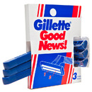 Good News Plus Disposable Razors (3 pack)