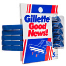 Good News Plus Disposable Razors (5 pack)