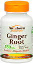 Ginger Root Whole Herb, 550mg, 100 capsules