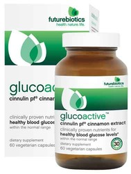 Futurebiotics- Glucoactive, 60 vegetarian capsules