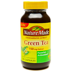 Nature Made- Green Tea, 150mg, 50 Capsules