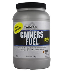 Twinlab- Gainer Fuel, Chocolate, 4.3 lbs