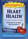 Emergen-C- Heart Health, Cherry (30 pack)