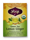 Herbal Tea Supplement, Lemon Ginger, 16 bags