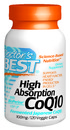 High Absorption, CoQ10 with Bioperine, 100mg, 120 vegetable capsules