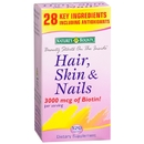 Hair, Skin and Nails Formula, 120 caplets