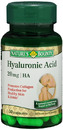 Hyaluronic Acid, 20mg, 30 capsules