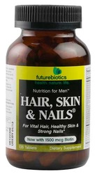 Futurebiotics- Hair Skin & Nails For Men, 135 tablets