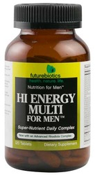 Futurebiotics- Hi Energy For Men, 120 tablets