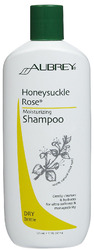 Aubrey Organics- Honeysuckle Rose Moisturizing Shampoo, 11oz