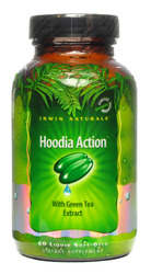 Irwin Naturals- Hoodia Action, Green Tea Extract, 60 softgels