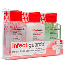 Infectiguard- Hand Sanitizer, Assorted, 3.2oz (3 pack)