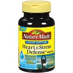 Nature Made- Heart & Stress Defense, 60 Softgels