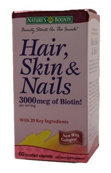 Nature's Bounty- Hair, Skin and Nails Formula, 60 tablets