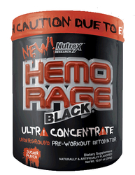 Nutrex- Hemo Rage Ultra Concentrate, Sucker Punch, 10.37oz