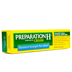 Preparation H- Hemorrhoidal Ointment, Maximum Strength, .9oz