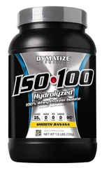 Dymatize- Iso 100, Smooth Banana, 1.6lbs